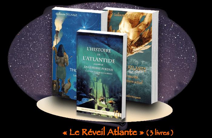 Le Réveil Atlante (Pack 3 livres)'